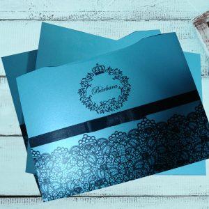 convites 15 anos azul