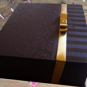 caixa convites padrinhos