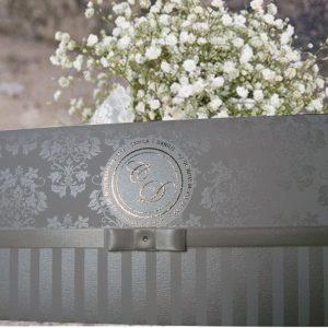 convites modernos, convites elegantes, convites metalizados