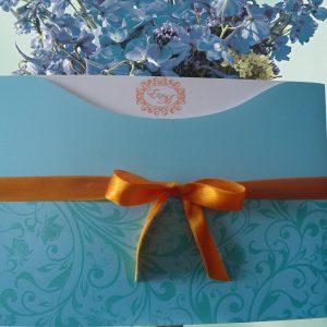Convites de casamento Tiffany