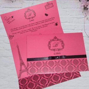 Convite tema Paris