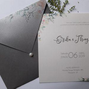 Convite cinza