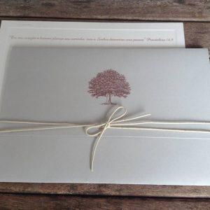 Convite clássico árvore